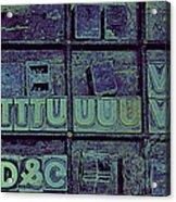 Tv II Acrylic Print