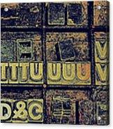 Tv IIi Acrylic Print
