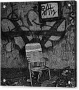 TV Lounge Fort Armistead Baltimore Maryland Acrylic Print