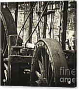 Twenty Mule Team Ore Wagon Acrylic Print