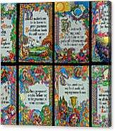 Twenty Third Psalm Collage 2 Acrylic Print
