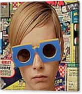 Twiggy Pop  Acrylic Print by Chandler  Douglas