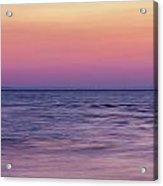 Twilight - Panorama Acrylic Print