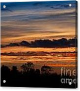 Twilight Colorful Sunset Acrylic Print
