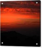 Twilight- End Of The Day- Viator's Agonism Acrylic Print