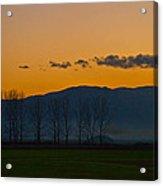 Twilight Mist Acrylic Print