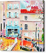 Twilight Montmartre Acrylic Print