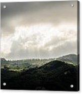 Italian Landscape - Twilight Of The Gods 2 Acrylic Print