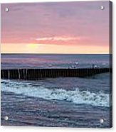 Twilight On A Beach Acrylic Print