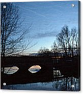 Twilight On The Potomac River Acrylic Print