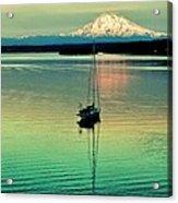 Twilight Sail Acrylic Print