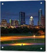 Twilight Skyline Acrylic Print