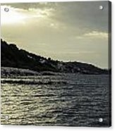 Sunset On The Beach - Twilight Symphony Acrylic Print