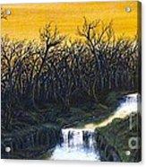 Twilight's Last Breath Acrylic Print by Erik Coryell