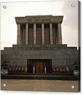 Twilit Ho Chi Minh Mausoleum Acrylic Print