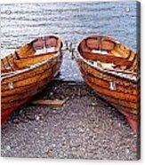Twin Boats Acrylic Print