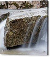 Twin Brook - Albany New Hampshire Usa Acrylic Print