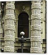 Twin Columns Acrylic Print
