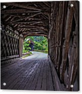 Twin Covered Bridges North Hartland Vermont Acrylic Print