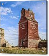 Twin Gain Elevators Acrylic Print