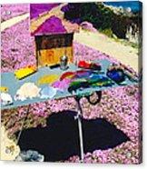 Oceanview Pinks Acrylic Print