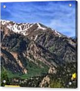 Twin Lakes Colorado Acrylic Print