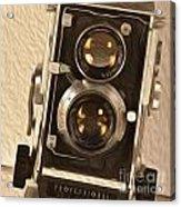 Twin Lens Reflex Redux Acrylic Print