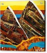 Twin Peaks Acrylic Print