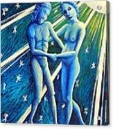 Twins Gemini Acrylic Print