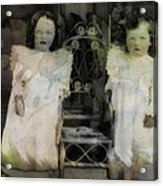 Twins Julia And Jim Cannon Circa 1903 Acrylic Print