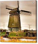Twiske Windmill Acrylic Print