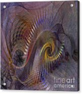 Twist And Shout - Square Version Acrylic Print