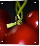 Twisted Cherries Acrylic Print