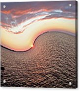 Twisted Sunset Acrylic Print