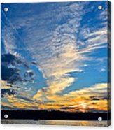 Twister Cloud Acrylic Print