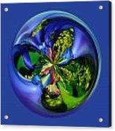 Twisting Orb Acrylic Print