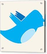 Twitter George Washington Acrylic Print