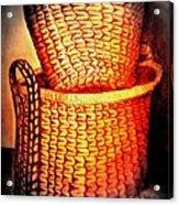 Two Baskets Acrylic Print