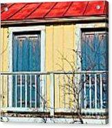 Two Blue Doors Acrylic Print