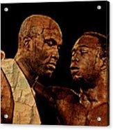 Two Boxers Acrylic Print by Lynda Payton