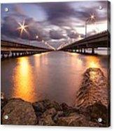 Two Bridges #1 Acrylic Print