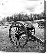 Two Cannons Acrylic Print