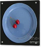Two Cherries Acrylic Print