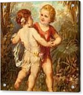 Two Cherubs Acrylic Print