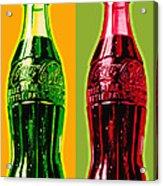 Two Coke Bottles Acrylic Print