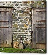Two Doors On A Barn Acrylic Print