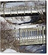 Two Foot Bridges Acrylic Print
