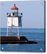 Two Harbors Breakwater Lighthouse Acrylic Print