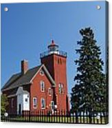 Two Harbors Mn Lighthouse 24 Acrylic Print
