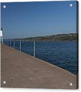 Two Harbors Mn Pier Light 12 Acrylic Print